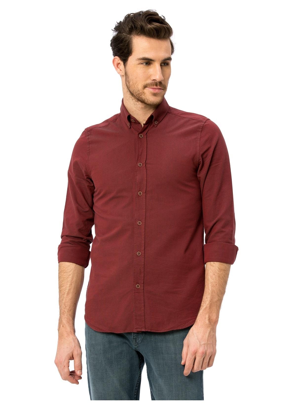 Lc Waikiki Slim Fit Uzun Kollu Gömlek 8s0227z8 Gömlek – 59.99 TL